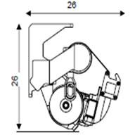 ravne-tende-uran-mehanizem